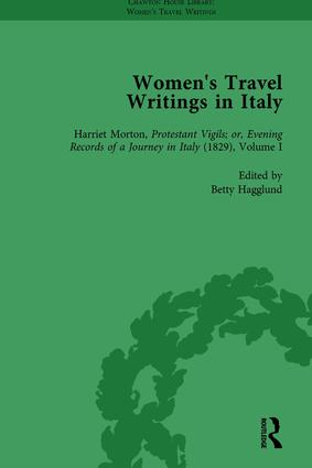 Women's Travel Writings in Italy, Part II vol 8: 1st Edition (Hardback) book cover