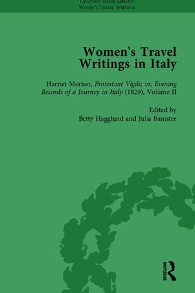 Women's Travel Writings in Italy, Part II vol 9: 1st Edition (Hardback) book cover