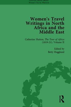 Women's Travel Writings in North Africa and the Middle East, Part II vol 5
