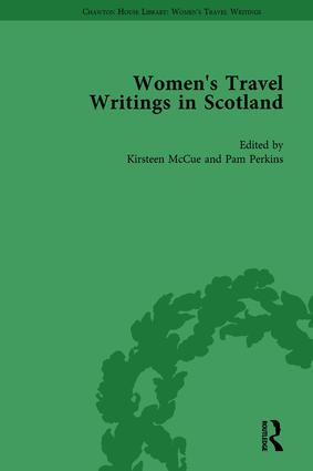 Women's Travel Writings in Scotland: Volume I book cover