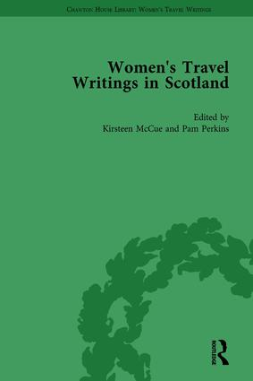 Women's Travel Writings in Scotland: Volume III, 1st Edition (Hardback) book cover
