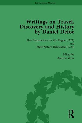 Writings on Travel, Discovery and History by Daniel Defoe, Part II vol 5: 1st Edition (Hardback) book cover