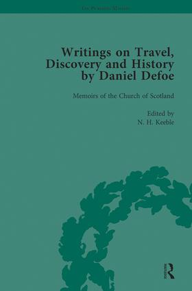 Writings on Travel, Discovery and History by Daniel Defoe, Part II vol 6: 1st Edition (Hardback) book cover