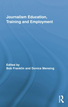 Journalism Education, Training and Employment (Paperback) book cover