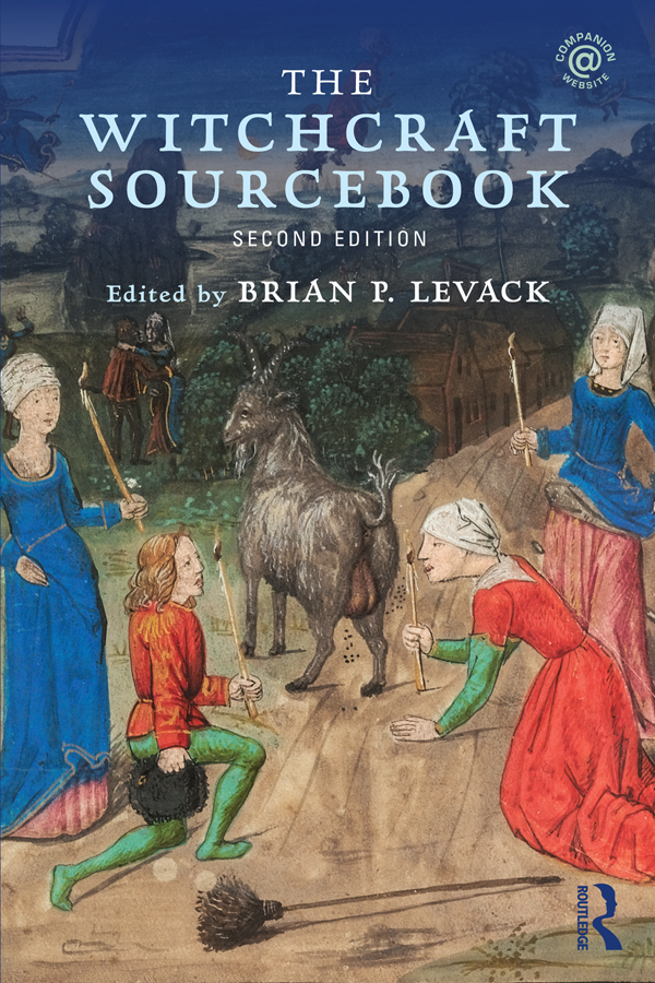 The Witchcraft Sourcebook: Second Edition, 2nd Edition (e-Book) book cover