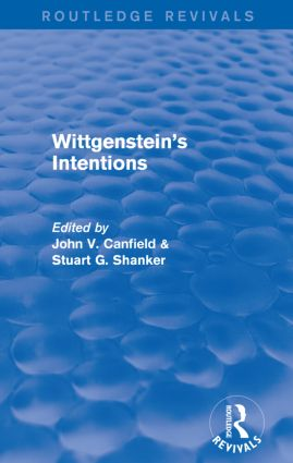 Wittgenstein's Intentions (Routledge Revivals): 1st Edition (e-Book) book cover