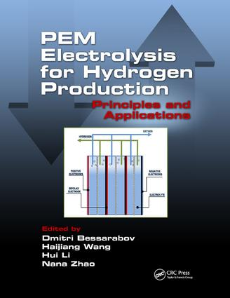 PEM Electrolysis for Hydrogen Production: Principles and Applications book cover
