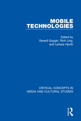 Mobile Technologies, 4-vol. set book cover