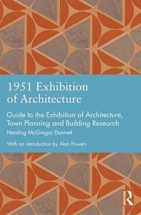 1951 Exhibition of Architecture: Guide to the Exhibition of Architecture, Town Planning and Building Research book cover