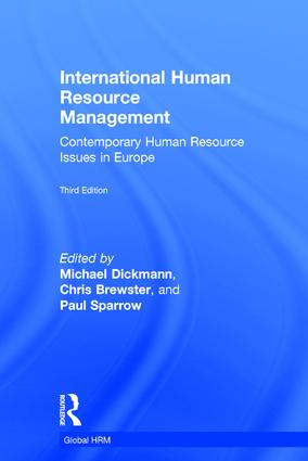 International Human Resource Management: Contemporary HR Issues in Europe, 3rd Edition (Hardback) book cover