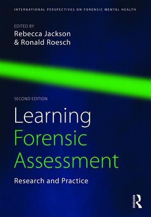 Learning Forensic Assessment: Research and Practice, 2nd Edition (Paperback) book cover