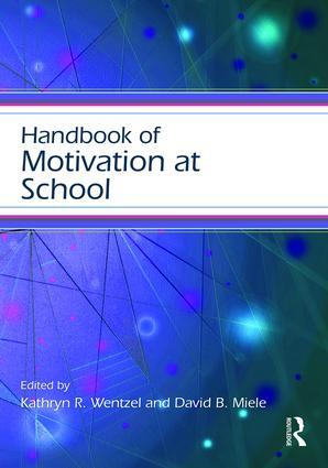 Handbook of Motivation at School book cover
