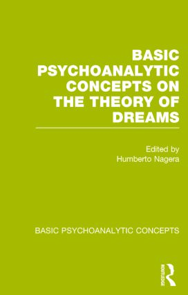 Basic Psychoanalytic Concepts on the Theory of Dreams: 1st Edition (Paperback) book cover