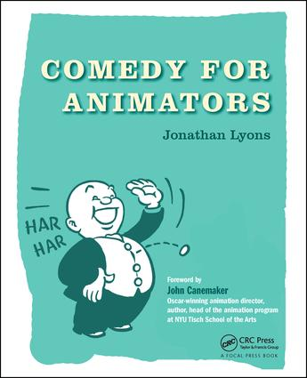 Comedy for Animators book cover