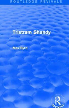 Tristram Shandy (Routledge Revivals): 1st Edition (Paperback) book cover