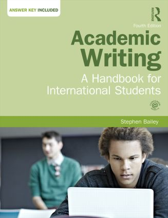 Academic Writing: A Handbook for International Students, 4th Edition (Paperback) book cover