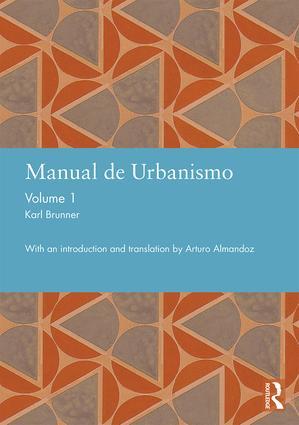 Manual de Urbanismo (Bogota, 1939): Volume 1 book cover