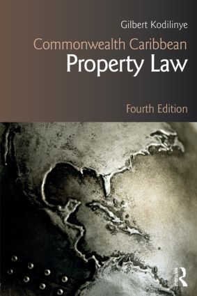 Commonwealth Caribbean Property Law: 4th Edition (Paperback) book cover