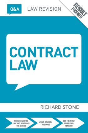 Q&A Contract Law: 11th Edition (Paperback) book cover