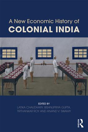 A New Economic History of Colonial India (Paperback) book cover