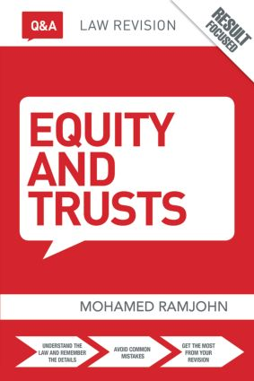 Q&A Equity & Trusts book cover