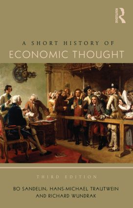 A Short History of Economic Thought book cover