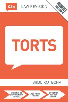 Q&A Torts book cover