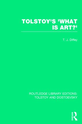 Tolstoy's 'What is Art?' book cover
