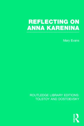 Reflecting on Anna Karenina book cover