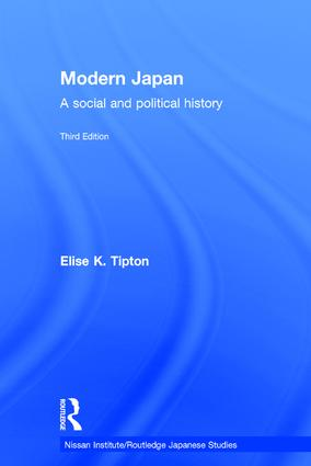 Modern Japan: A Social and Political History, 3rd Edition (Hardback) book cover