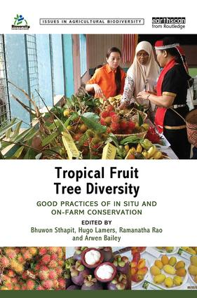 Tropical Fruit Tree Diversity: Good practices for in situ and on-farm conservation, 1st Edition (Hardback) book cover