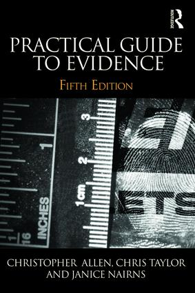 Practical Guide to Evidence book cover