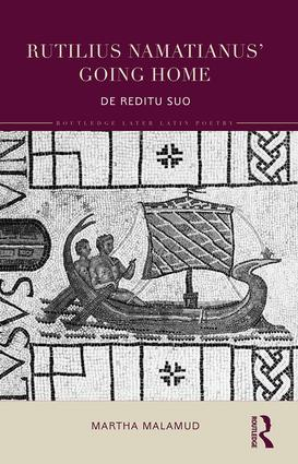 Rutilius Namatianus' Going Home: De Reditu Suo book cover
