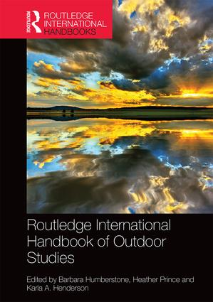 Routledge International Handbook of Outdoor Studies book cover