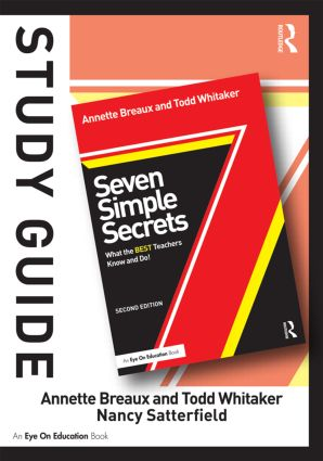 Study Guide, Seven Simple Secrets: What the BEST Teachers Know and Do!, 2nd Edition (Paperback) book cover