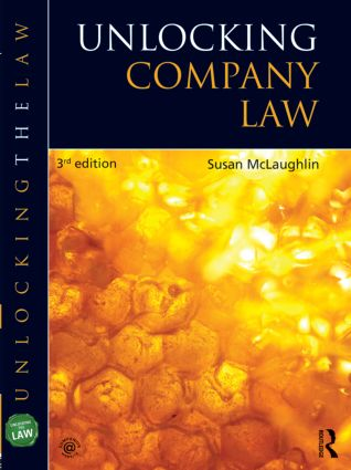 Unlocking Company Law book cover