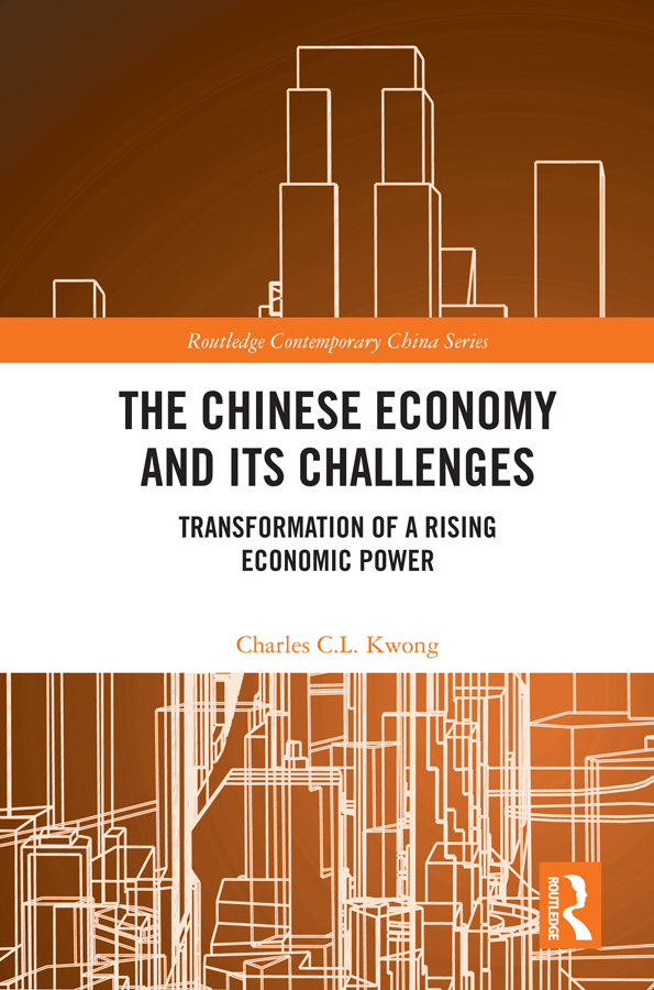 The Chinese Economy and its Challenges: Transformation of a Rising Economic Power book cover