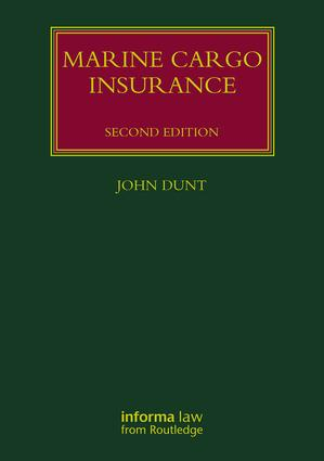 Marine Cargo Insurance book cover