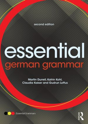 Essential German Grammar: 2nd Edition (Paperback) book cover