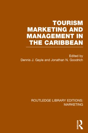 Tourism Marketing and Management in the Caribbean (RLE Marketing): 1st Edition (Hardback) book cover