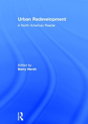 Urban Redevelopment: A North American Reader book cover