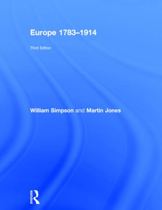 Europe 1783-1914: 3rd Edition (Hardback) book cover