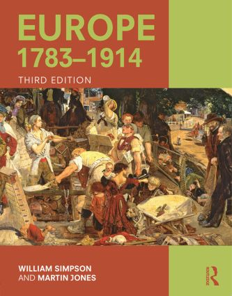 Europe 1783–1914: 3rd Edition (Paperback) book cover