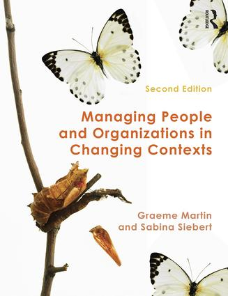 Managing People and Organizations in Changing Contexts: 2nd Edition (Paperback) book cover