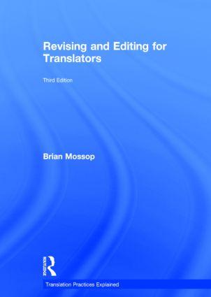 Revising and Editing for Translators