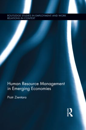 Human Resource Management in Emerging Economies book cover