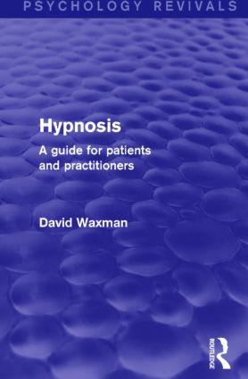 Hypnosis (Psychology Revivals)