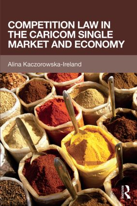 Competition Law in the CARICOM Single Market and Economy book cover