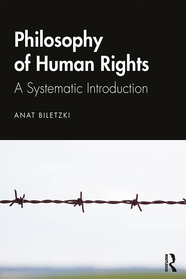 Philosophy of Human Rights: A Systematic Introduction book cover