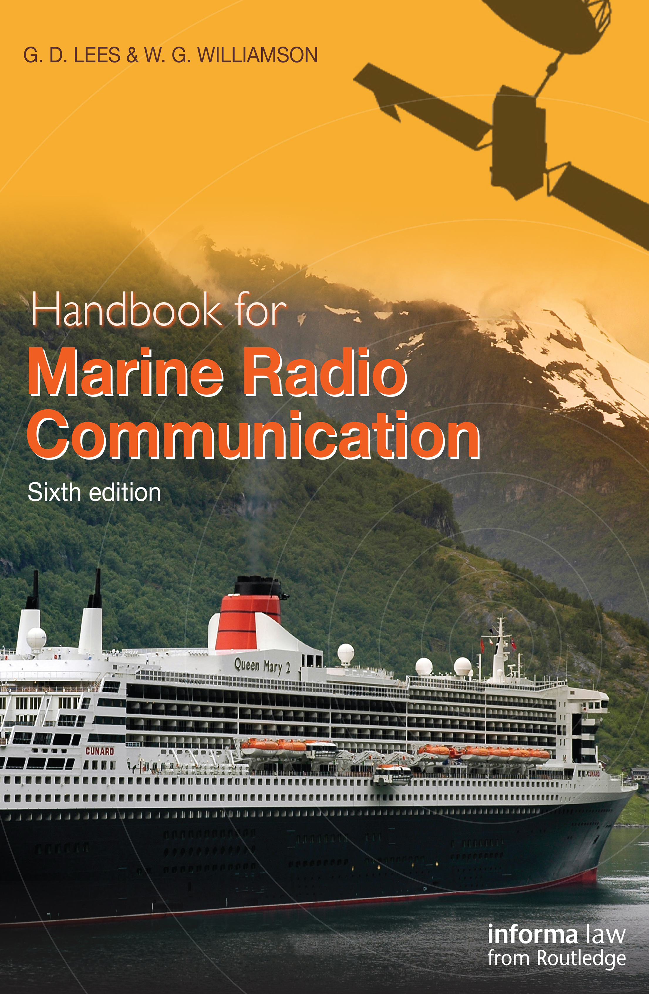 Handbook for Marine Radio Communication: 6th Edition (Paperback) book cover